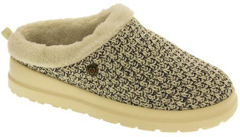 memory foam slipper boots skechers bobs faux fur memory foam open back mule
