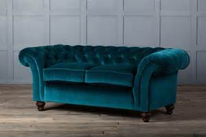 Fabric Sofa And Loveseat Monty Velvet Fabric Chesterfield Sofa