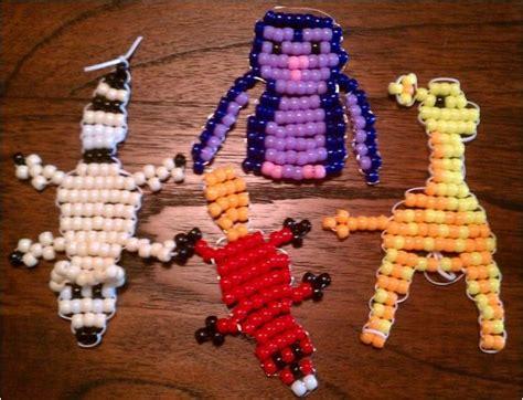 beaded animals free patterns beaded giraffe keychain