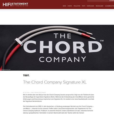 hifi speaker cable reviews product review chord signature xl speaker cable hi fi