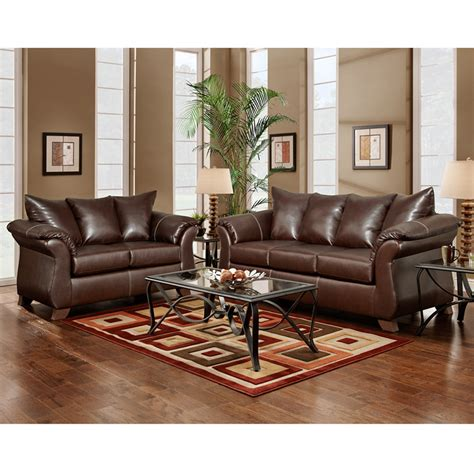 taos mahogany living room set flash furniture