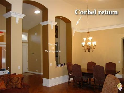 How To Install Corbels Four Ways To Terminate A Crown Molding The Joy Of