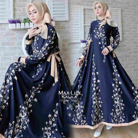 Kalila Maxy Gamis By Kalila Gamis Maxmara gamis terbaru 2018 maxmara kalila navy baju gamis terbaru
