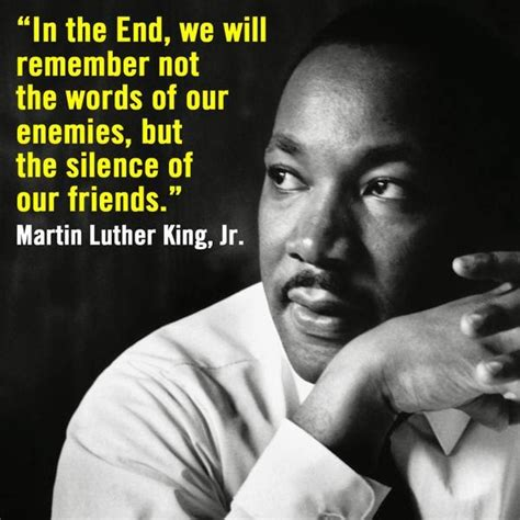 Martin Luther King Meme - 22 meme internet in the end we will remember not the