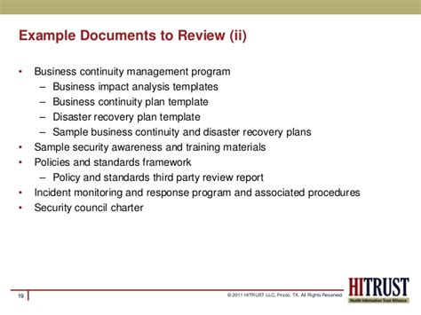 Hitrust Csf Meaningful Use Risk Assessment Hitrust Policy Templates