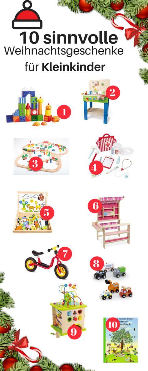 weihnachtsgeschenke baby weihnachtsgeschenke f 252 r kleinkinder alltag mit baby