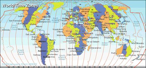world time zones map eritrea local time