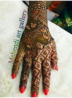 tattoo on namratha hand latest 16 beautiful bridal mehndi designs for full hands