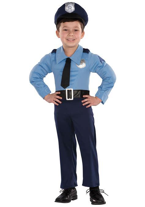 cop costume toddler chest costume
