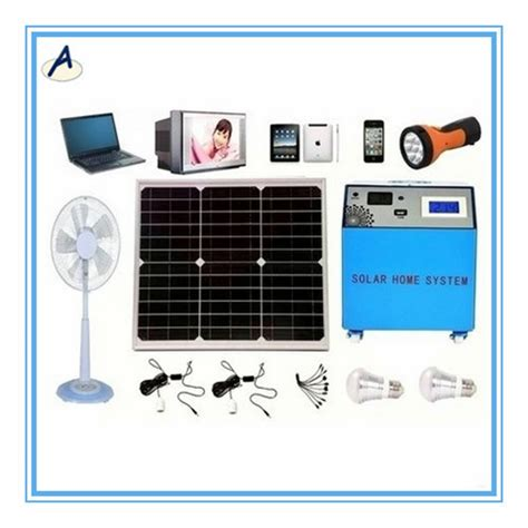 300w portable mini solar power system kit generator