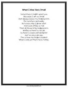 Printable keepsake handprint poem a to z teacher stuff printable