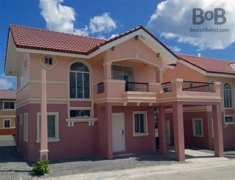 Camella Homes Drina Floor Plan Rent The Emerald House In Camella Bohol From Bob