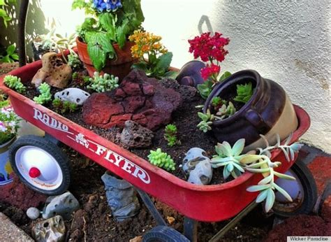 how to make a container garden create a clever container garden using an wagon photo