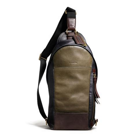Coach Cus Sling Backpack 1 8 best images about s leather bags on