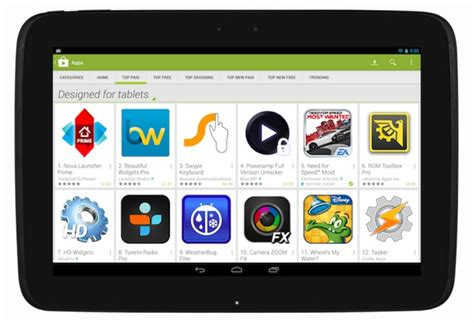play store app for android tablet to highlight tablet apps in the play store starting november 21st