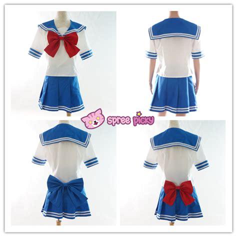 Costum Seifuku custom made daily sailor moon tsukino usagi