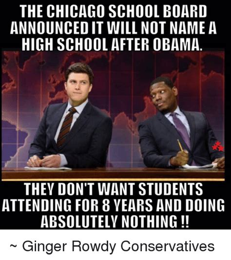 Chicago Memes Facebook - the chicago school board announcedit will not name a high