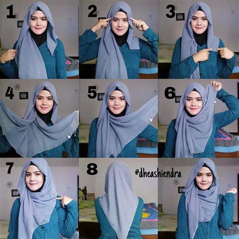 tutorial berhijab terbaru 2015 loose triangle hijab tutorial hijab fashion inspiration