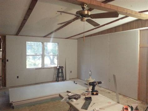 How To Measure Drywall For A Room by Www Doublewideremodel