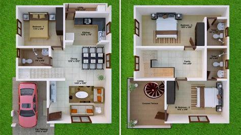 east facing duplex house floor plans 30x50 duplex house plans east facing youtube
