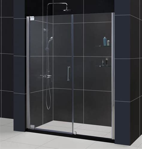 shower doors dreamline showers elegance pivot shower door