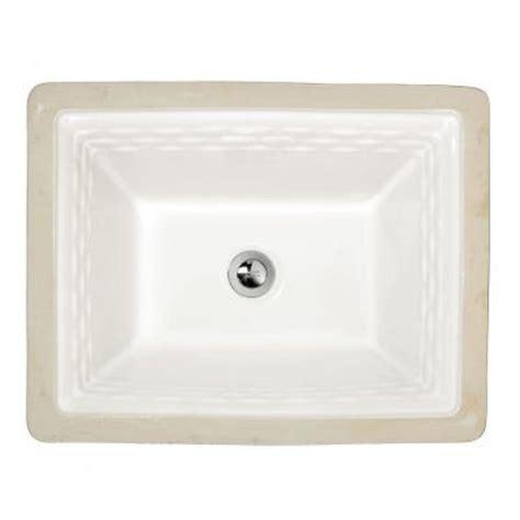 American Standard Sinks Home Depot american standard portsmouth undermount bathroom sink in
