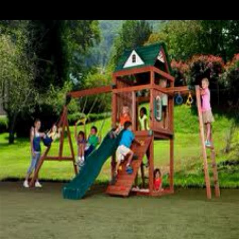swing set kits lowes swing n slide cumberland play set only lowes new