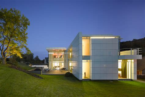 luxembourg house by richard meier built for privacy and