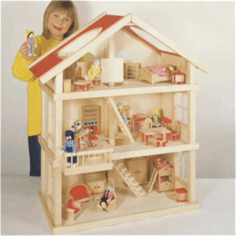 large wooden doll house large wooden dolls house wooden dollhouse and doll houses