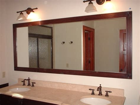 bathroom vanity and mirror ideas framed bathroom vanity mirrors home design ideas and inspiration