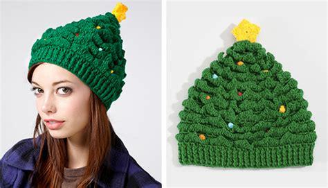 free knitting pattern baby christmas tree hat style hat magazine