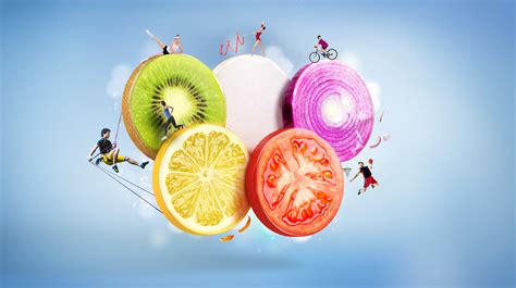 fruit olympics fruit olympic rings on behance