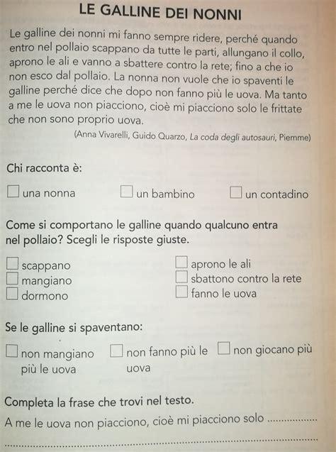 prove d ingresso terza elementare italiano dettati ortografici e prove di comprensione prove ingresso