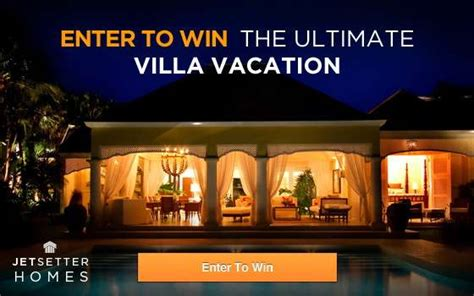 Jamaica Vacation Giveaway - idyllic villa vacations the jetsetter homes jamaica giveaway