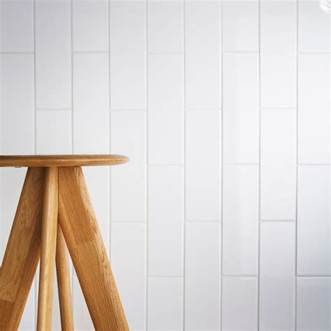 Fliese 300 X 100 by Johnson Tiles Select Collection Arctic White