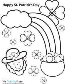 st patrick s day free coloring pages