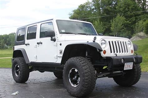 purchase   jeep wrangler unlimited jku lifted
