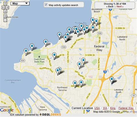seattle map federal way federal way homes for sale federal way real estate