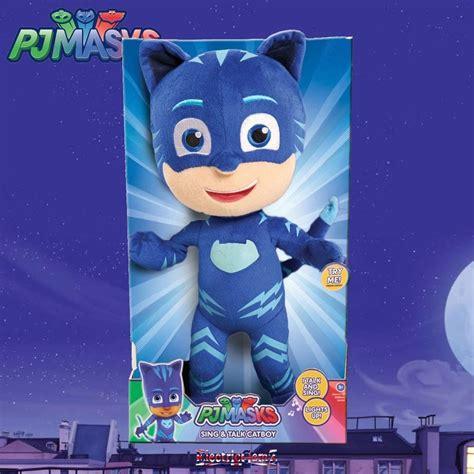 Pj Masks Sing And Talk Plush Gekko pj masks sing talk plush cat boy