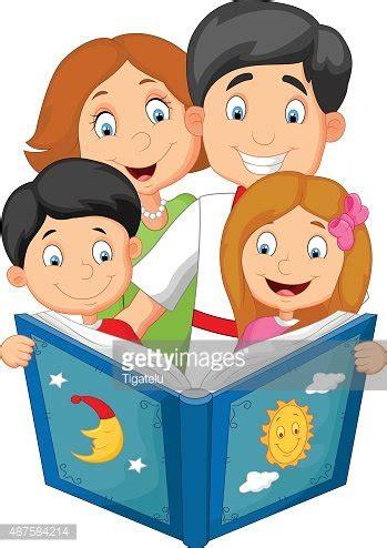 descargar todos a dormir along came a bedtime libro de texto gratis dibujos animados familia lea un cuento antes de dormir vectores en stock clipart me