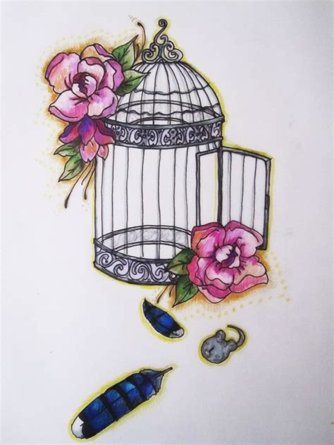 small bird cage tattoo 25 best ideas about bird cage tattoos on cage