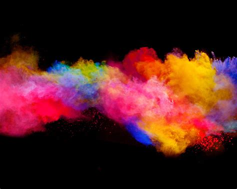 color powder explosion explosion of colored powder stock photo 08 free