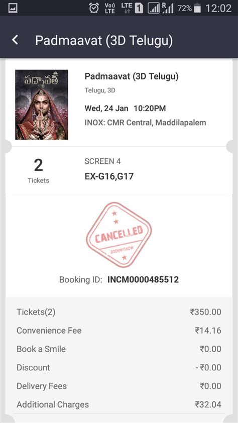 bookmyshow quora how to cancel a ticket on book my show quora