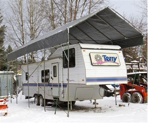 Car Port Shelter by Portable Carport Rv Shelter For Less 35 To 40 By