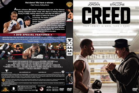 Cover Dvd creed dvd cover label 2016 r1 custom