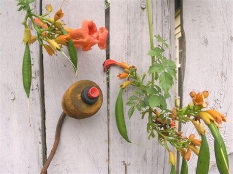 Handmade Garden Decor - garden handmade flower industrial decor garden