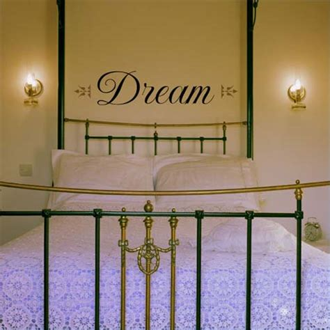 bed wall decor wall decor over four poster bed