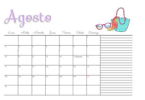 Calendario Agosto 2015 Para Imprimir Marthibis Calendario 2015