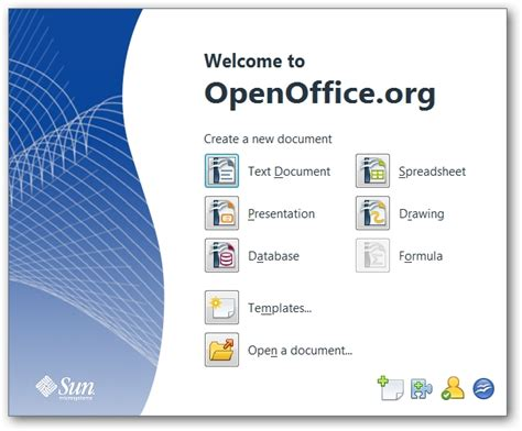 Beginner Geeks Openoffice Is A Free Cross Platform Alternative To Ms Office Open Office Templates Presentation