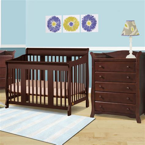 Storkcraft Cherry Dresser Bestdressers 2017 Convertible Crib And Dresser Set